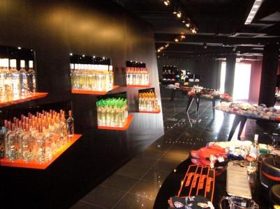 Bacardi Store Interiors
